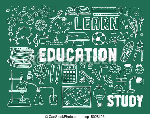 いたずら書き, 教育, 要素 - csp15028123