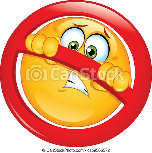 ない, emoticon, 割り当てられる - csp9566572