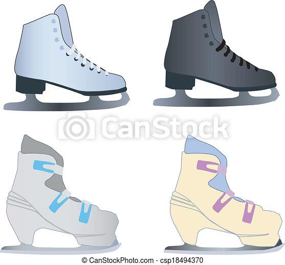 アイススケートをする - csp18494370