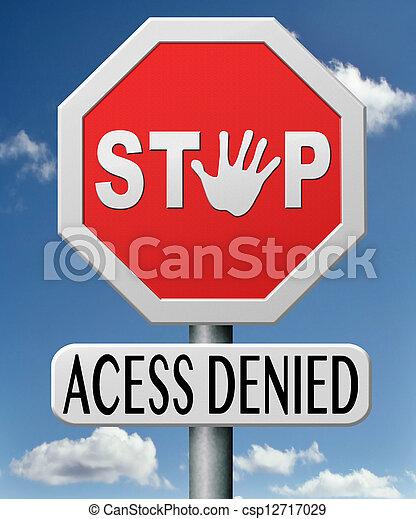 アクセスが否定される - csp12717029