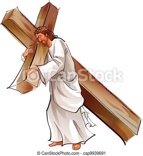 イエス・キリスト, 保有物, 交差点 - csp9939691