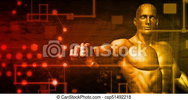 インターフェイス, 技術, 未来派 - csp51492218