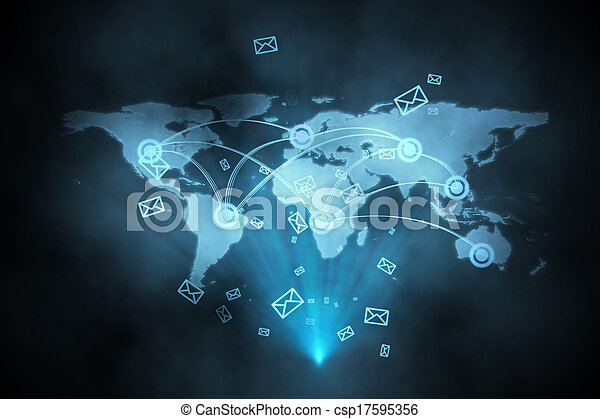 インターフェイス, 未来派, 技術 - csp17595356