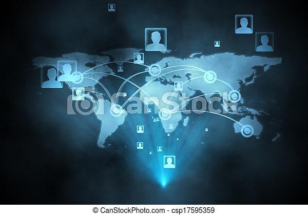 インターフェイス, 未来派, 技術 - csp17595359