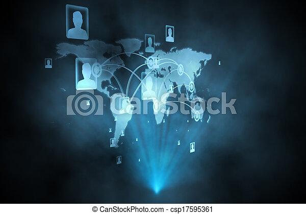 インターフェイス, 未来派, 技術 - csp17595361