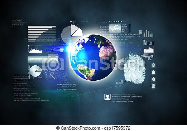 インターフェイス, 未来派, 技術 - csp17595372