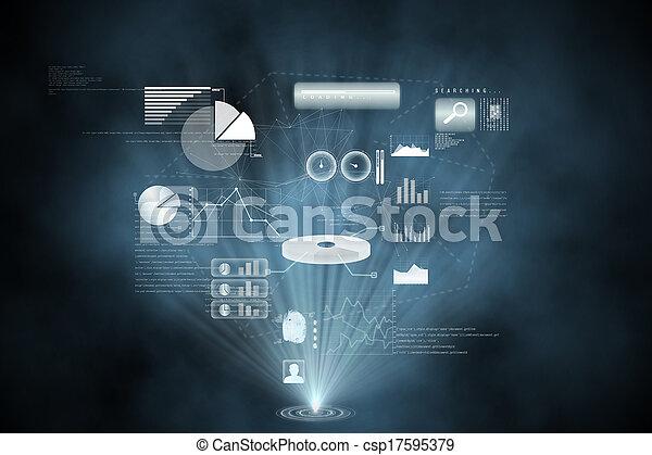 インターフェイス, 未来派, 技術 - csp17595379