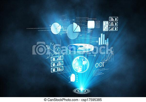 インターフェイス, 未来派, 技術 - csp17595385