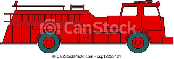 エンジン, 火 - csp12223421