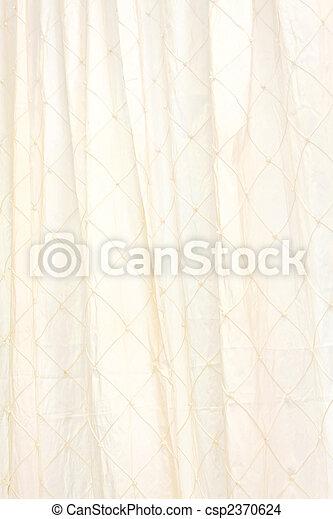 カーテン, リンネル - csp2370624