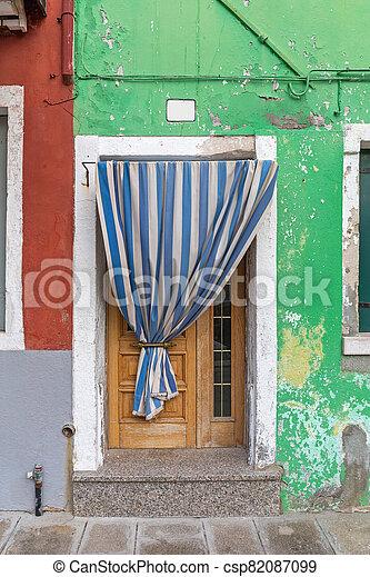 カーテン, 玄関 - csp82087099