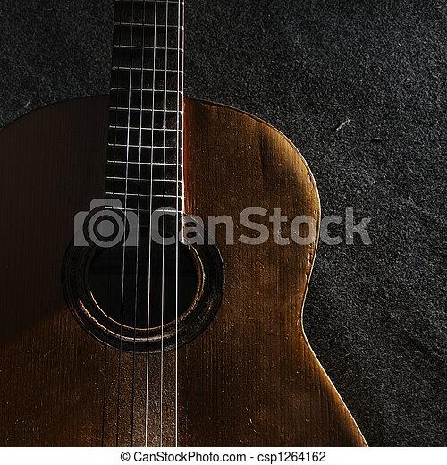 ギター, 生活, まだ - csp1264162