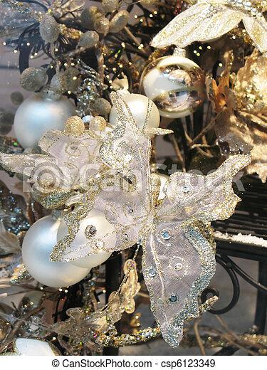 クリスマスの 装飾 - csp6123349