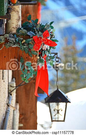 クリスマスの 装飾 - csp11157778