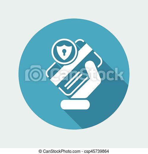 クレジット, セキュリティー, カード - csp45739864