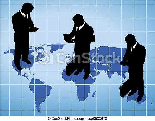 グローバルなビジネス - csp0533673