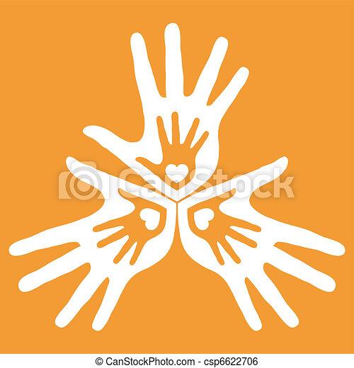 サポート, 愛, design., 家族 - csp6622706