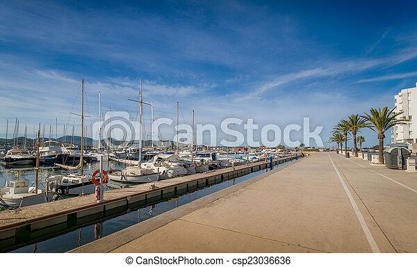 サンantonio, 堤防 - csp23036636