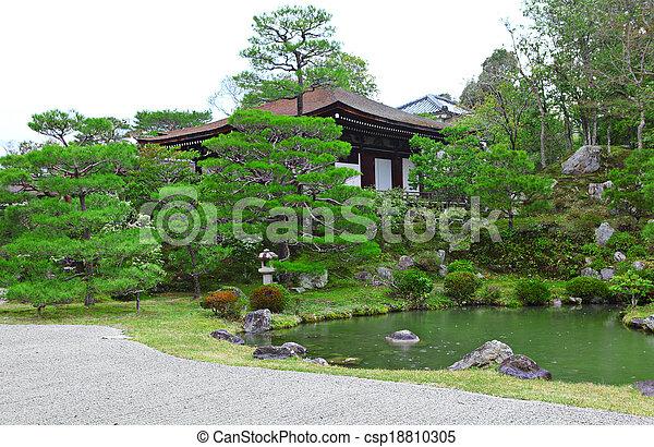 スタイル, 日本の庭 - csp18810305