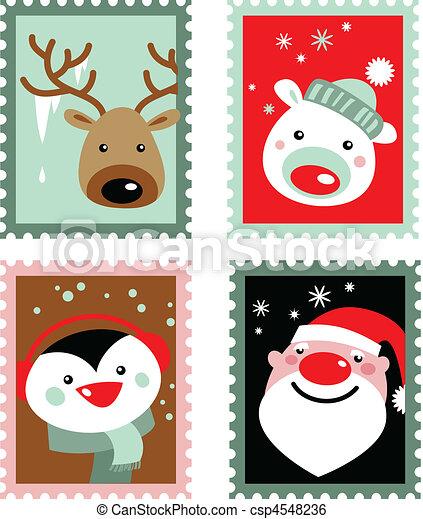 スタンプ, クリスマス - csp4548236