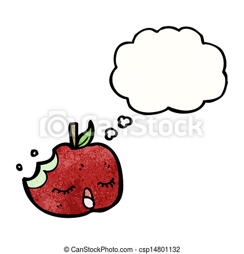 スピーチ泡, 漫画, アップル - csp14801132