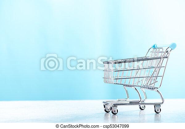 スペース, カート, コピー, 買い物 - csp53047099