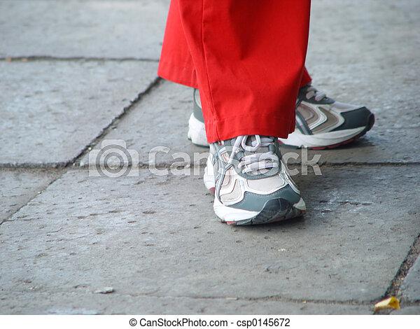 スポーツの靴 - csp0145672