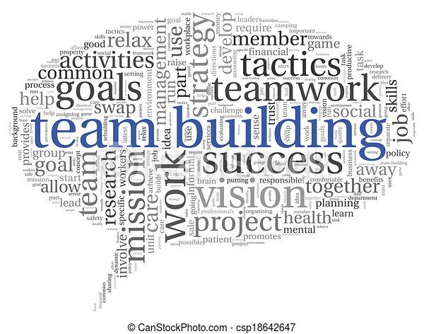 チームワーク, 概念, 単語, 雲, タグ - csp18642647
