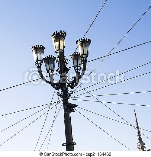 トリノ, streetlights - csp21164462