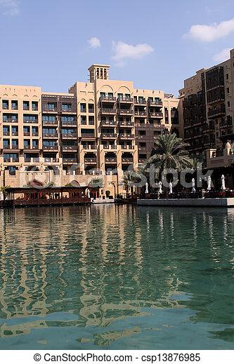 ドバイ, madinat, jumeirah - csp13876985