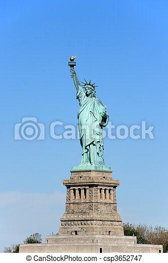 ニューヨークシティ, -, 像, 自由 - csp3652747