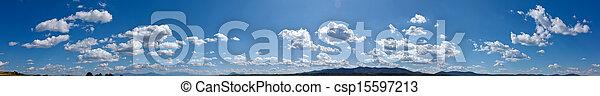 パノラマ, 空 - csp15597213