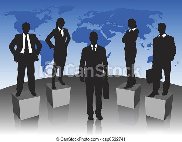 ビジネス チーム - csp0532741