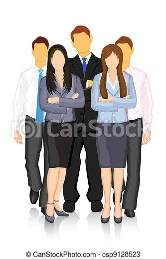 ビジネス チーム - csp9128523