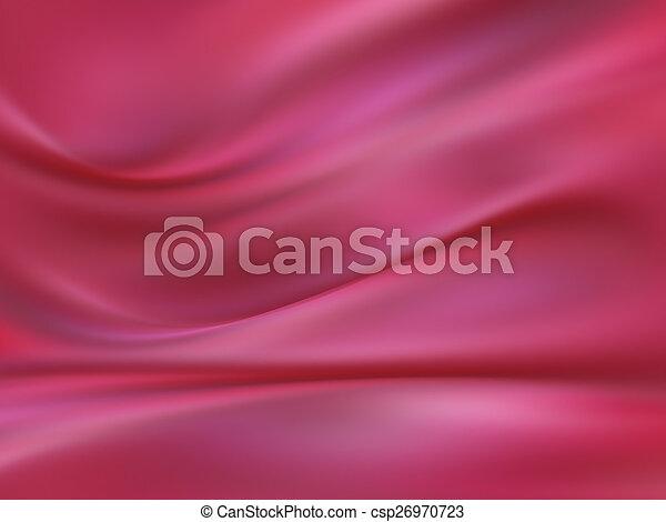 ピンク, 絹 - csp26970723