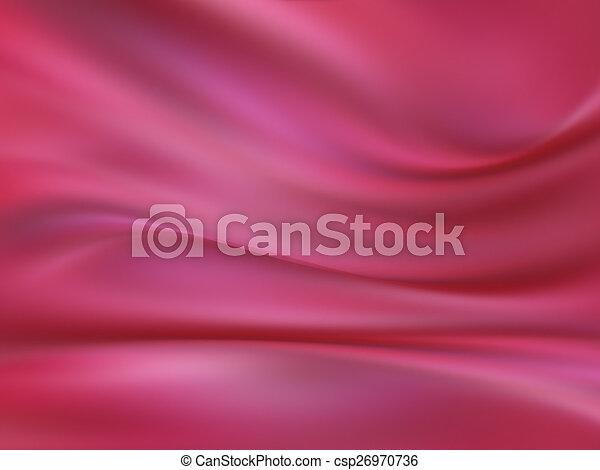 ピンク, 絹 - csp26970736