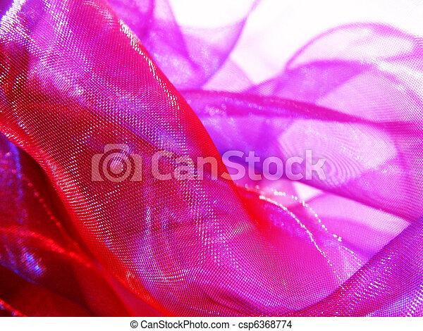 ピンク, 絹 - csp6368774