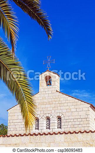 ファサド, 乗算, 教会, tabgha - csp36093483