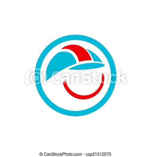 ヘルメット, 建築者, 印 - csp21012070