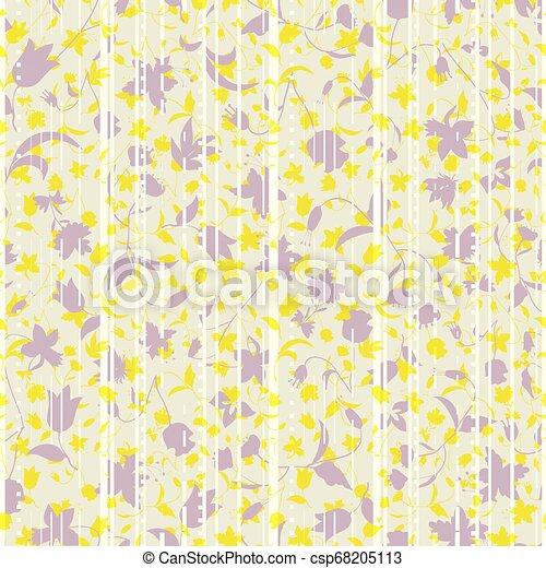 ベクトル, アスファルト, 抽象的, イラスト, 定型, 層にされる, 道, florals., higways - csp68205113