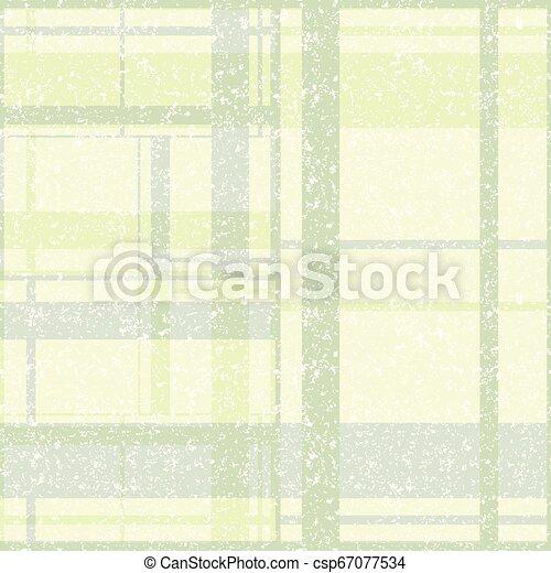 ベクトル, stylizedspatter, plaid, pattern., イラスト - csp67077534