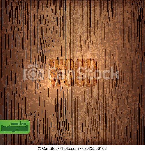 ベクトル, texture., 背景, 木 - csp23586163
