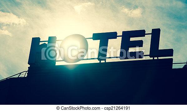 ホテル, 印 - csp21264191