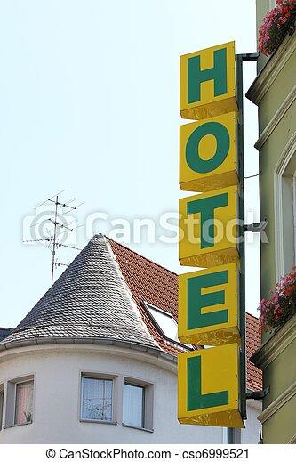 ホテル, 印 - csp6999521