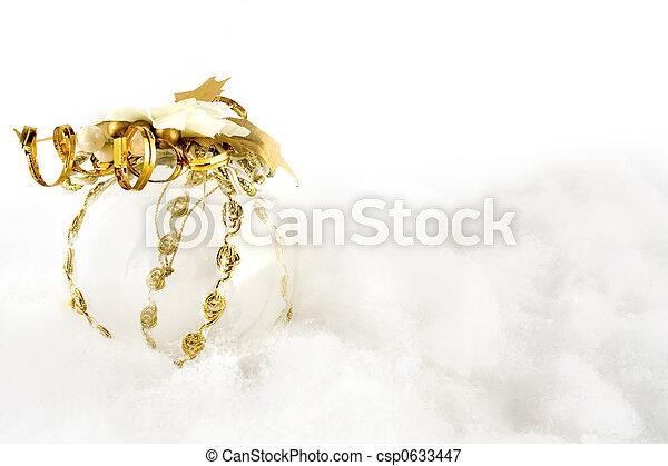 ボール, クリスマス, waddings - csp0633447