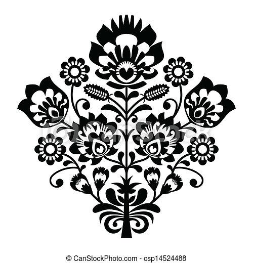 ポーランド語, 人々, パターン, 伝統的である - csp14524488