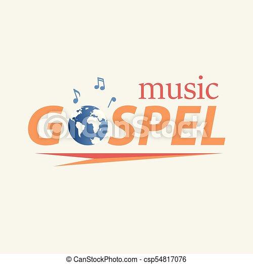 世界, ゴスペル, 音楽 - csp54817076