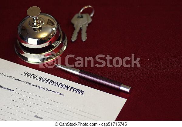 予約, ホテルの部屋 - csp51715745