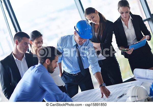 人々, エンジニア, ミーティング, ビジネス - csp15891850