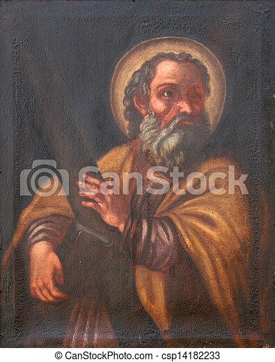 使徒, アンドリュー, 聖者 - csp14182233